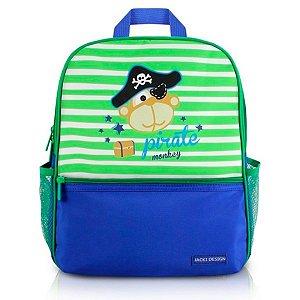 Mochila infantil escolar Jacki Design pequeninos pirata