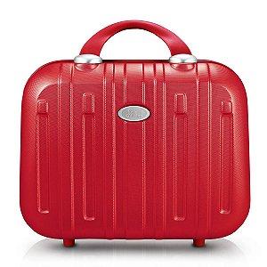Frasqueira contempo vermelha Jack Design com divisória