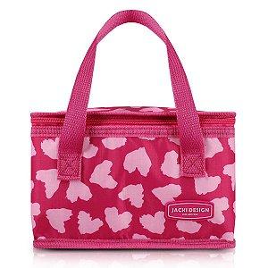 Frasqueira Termica Bem estar Pink Jacki Design retangular
