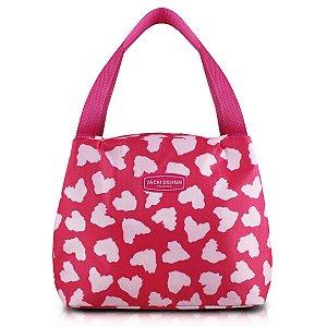Necessaire Termica Bem Estar Pink Jacki Design Alça de Mão
