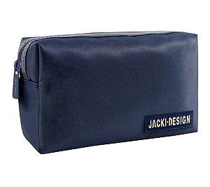 Necessaire masculina retangular Jacki Design Azul