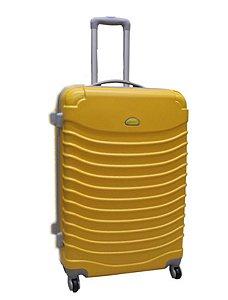 Mala pequena de viagem amarelo rodas 360° Italia cruzeiro