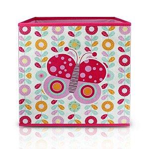 Caixa Organizadora Infantil - Jacki Design borboleta