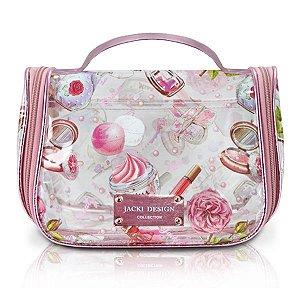 Necessaire de viagem Doce encanto Jacki Design Rosa