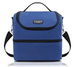 Bolsa Térmica GG 2 divisões Jacki Design Azul