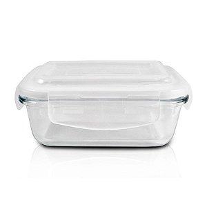Pote de vidro hermético P Jacki Design Cristal