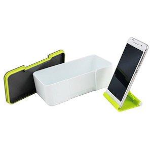 Marmita 650ml com Porta Celular Jacki Design Verde