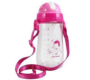 Garrafa Squeeze Pequeninos 480ml Jacki Design Cute Pink