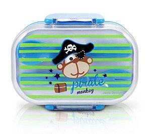 Pote para Lanche Pequeninos 2 Andares Jacki Design Pirata