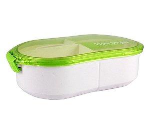 Marmita 3 compartimentos 1200 ml Jacki Design Verde