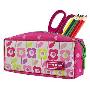 Estojo Necessaire Jacki Design Flor Pink Sapeka