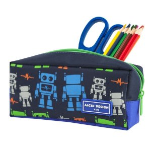 Estojo Necessaire Infantil Jacki Design Sapeka Robô sem alça