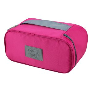 Necessaire de viagem porta Lingerie rosa pink Jacki Design