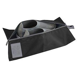 Bolsa porta Calçados Preta Jacki Design