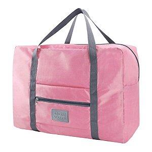 Bolsa de viagem dobrável GG Rosa Jacki Design