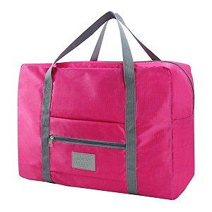 Bolsa de viagem dobrável GG Pink Jacki Design