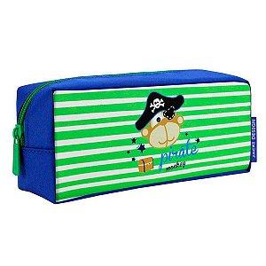 Estojo Escolar Infantil Masculino pirata Jacki Design