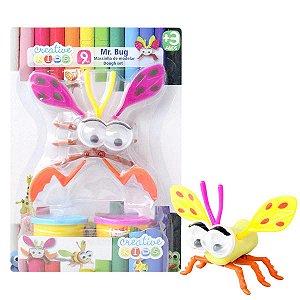 Massinha de Modelar Mr. Bug com Garras 9 Peças Batiki