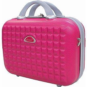 Frasqueira de viagem com alça carona Alasca pink Cruzeiro