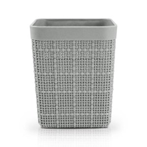 Porta Lápis e Pincel Cozy Cinza Jacki Design