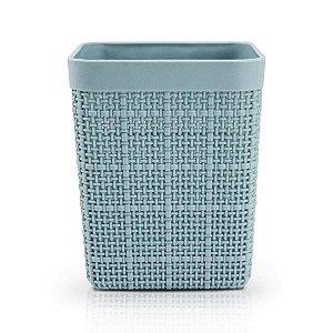 Porta Lápis e Pincel Cozy Azul Jacki Design