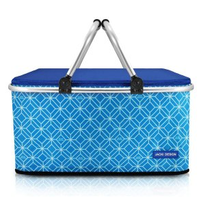 Cesto de Piquenique Térmico Fresh Azul Jacki Design