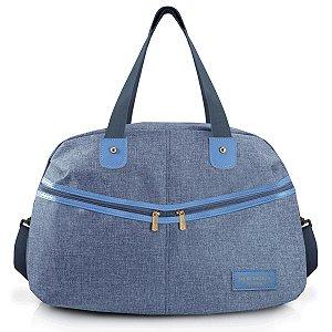 Bolsa de Viagem Casual academia Be You Azul Jacki Design