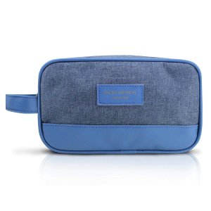 Necessaire Com Alça Lateral Azul Be You Jacki Design