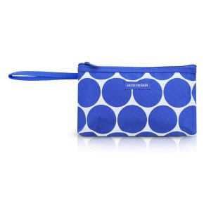 Necessaire Dots Com  Alça De Mão P Azul Jacki Design