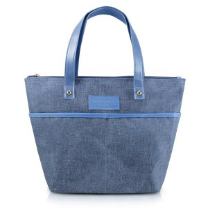Bolsa P Casual Be You Azul com alça de mão Jacki Design