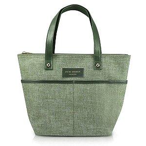 Bolsa P Casual Be You Verde com alça de mão Jacki Design