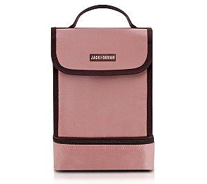 Bolsa Térmica 2 Compartimentos  Fitness rosa Jacki Design
