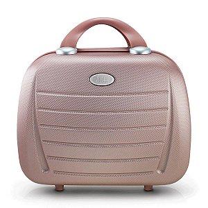 Frasqueira Abs Select com alça carona Rosê Gold Jacki Design