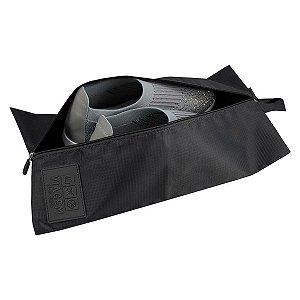 Bolsa Porta Sapato Viagem Poliéster Preto