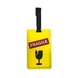 Etiqueta de bagagem Identificador de Mala Amarelo Cruzeiro