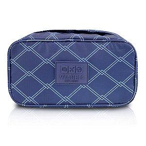 Bolsa Porta Lingerie estampado Azul Jacki Design