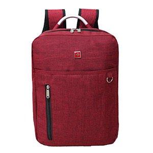 Mochila Executiva Para Notebook M6SQ vermelho Cruzeiro