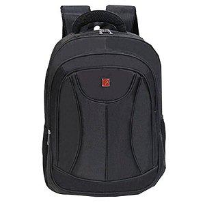 Mochila Executiva com porta notebook cruzeiro M10 preta
