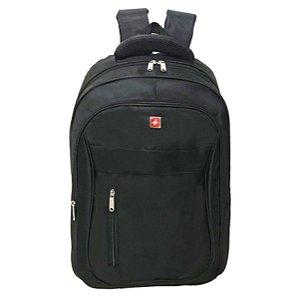 Mochila de Costas Executiva com porta notebook cruzeiro M11 preto