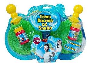 Bolhas De Sabão Jogo Tênis De Bolhas Bubblez