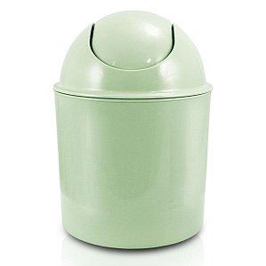Lixeira pequena para Quarto ou Banheiro Verde Jacki Design