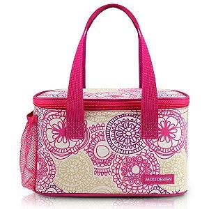 Bolsa Frasqueira térmica My Lolla Rosa Jacki Design