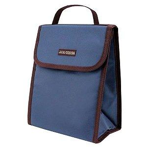 Bolsa Térmica Essencial com Alça De Mão Azul Jacki Design