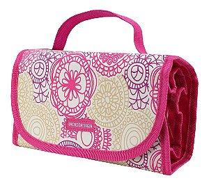 Necessaire Rocambole Rosa My Lolla Jacki Design