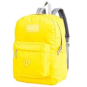 Mochila Impermeável com Bolso Frontal Amarela Colors Fatal