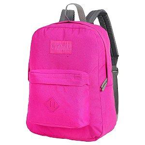 Mochila Impermeável com Bolso Frontal Pink Colors Fatal