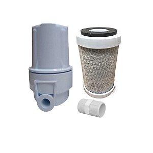 Filtro De Água Para Chuveiro - Reduz Cloro, Sujeira E Metais