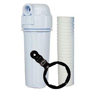 Filtro De Água Para Caixa Dágua Ou Cavalete De Entrada Novo