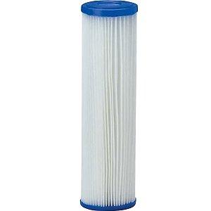Refil Filtro Agua 9 3/4 Plissado Lavável Reutilizável 20micras
