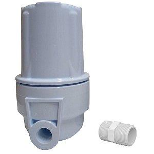Filtro Purificador De Água Para Chuveiro Elimina 98% Cloro Branco